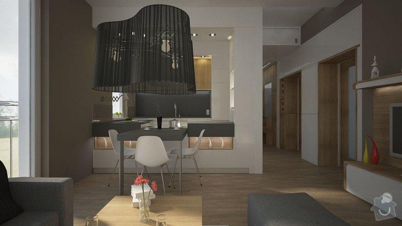 Návrh úprav interieru bytu, Brno Židenice: C03_PP