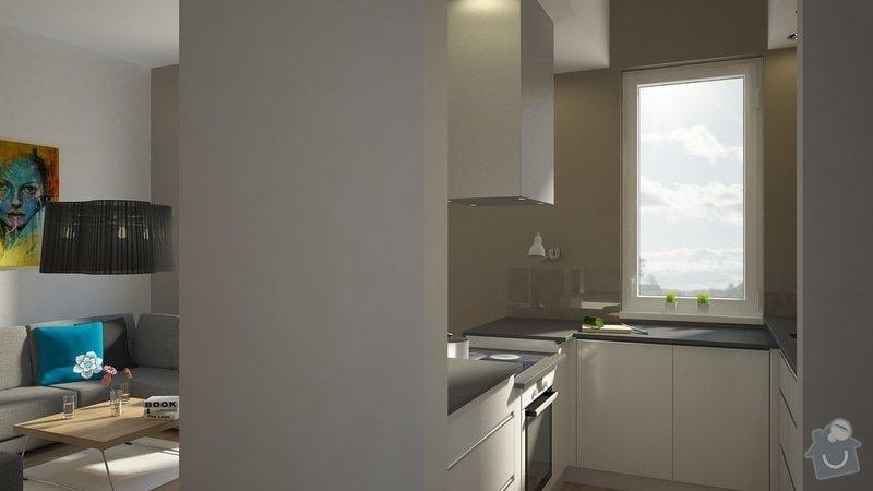 Návrh úprav interieru bytu, Brno Židenice: C07