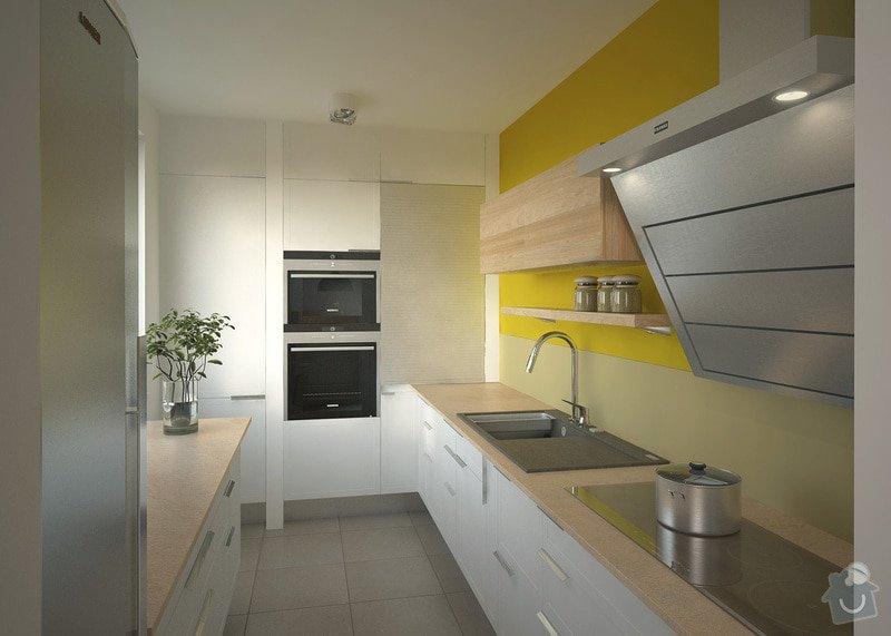 Návrh interiéru bytu, Vyškov Tyršova: 01_p