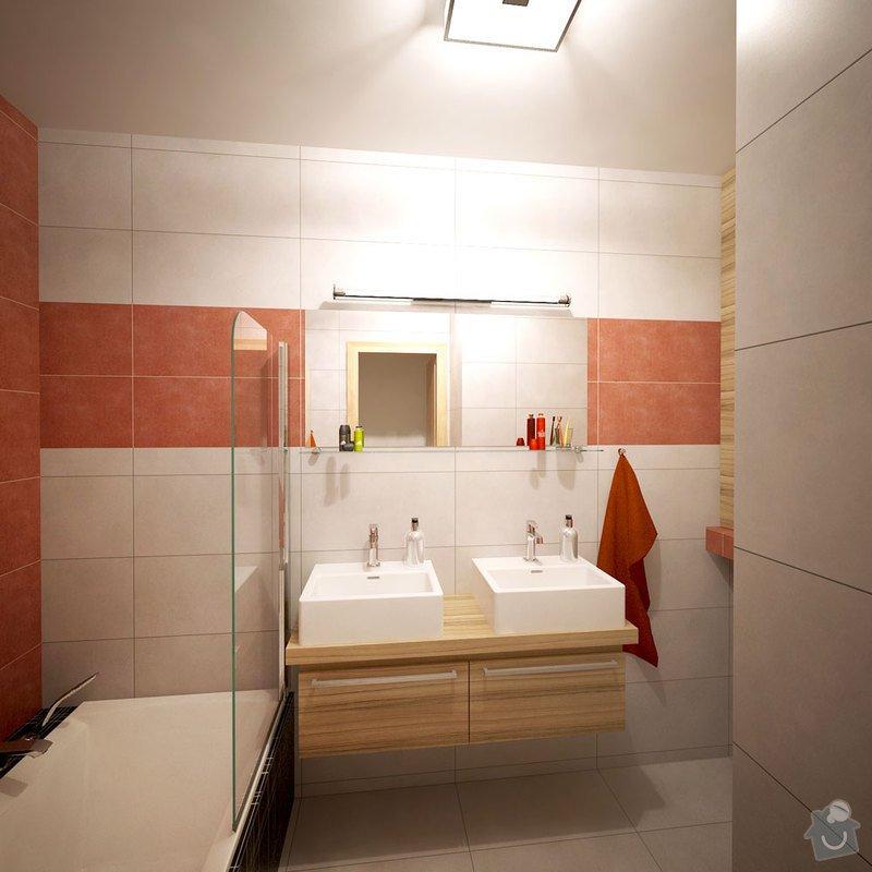 Návrh interiéru bytu, Vyškov Tyršova: 01