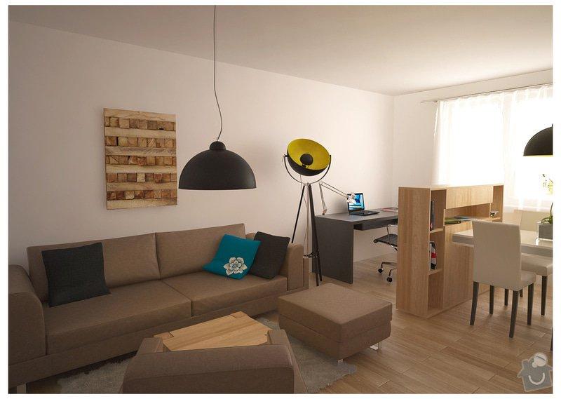 Návrh interiéru bytu, Vyškov Tyršova: SRM_20120913_op1