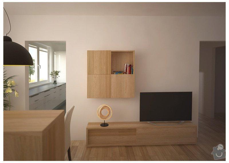 Návrh interiéru bytu, Vyškov Tyršova: SRM_20120913_op2