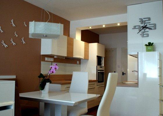 Návrh a rekonstrukce kuchyně, jídelního koutu a obýváku