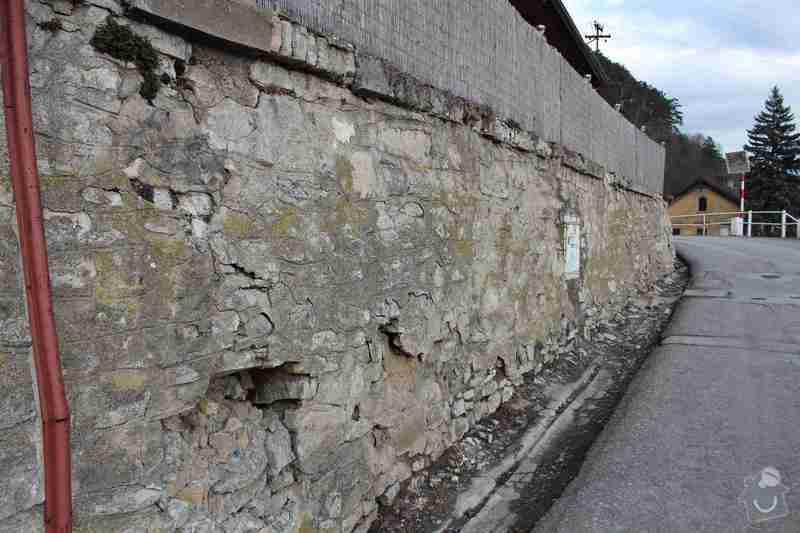 Rekonstrukce opěrné zdi: IMG_4633