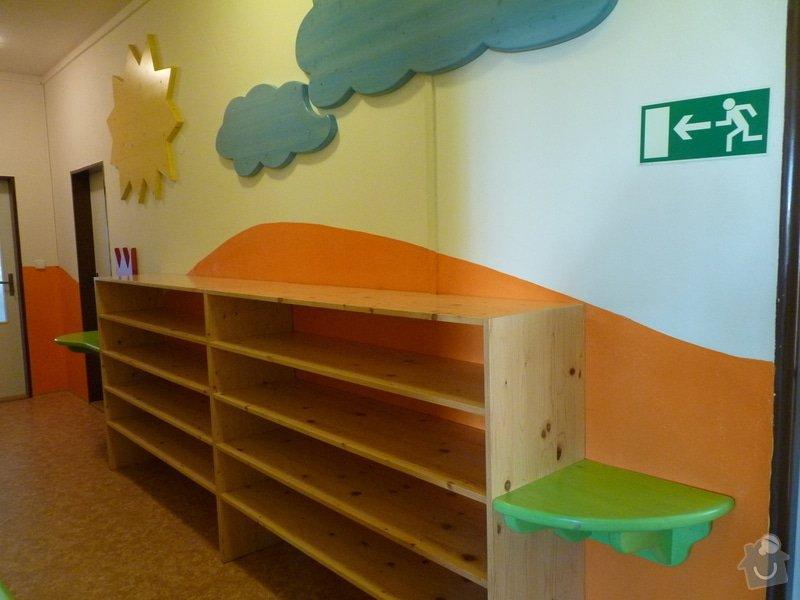 Návrh a realizace obložení a vybavení nábytkem chodby MŠ: 4