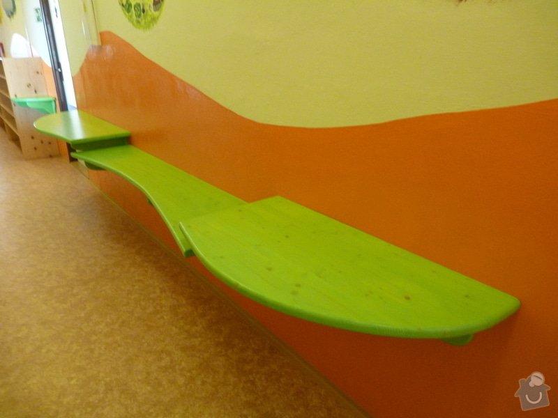 Návrh a realizace obložení a vybavení nábytkem chodby MŠ: 8