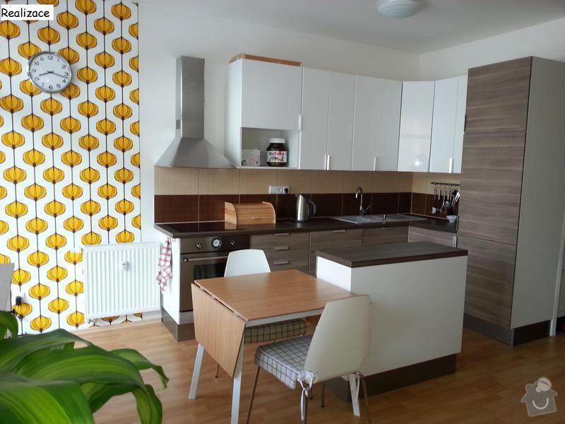 Návrh interiéru bytu 2+kk: Realizace