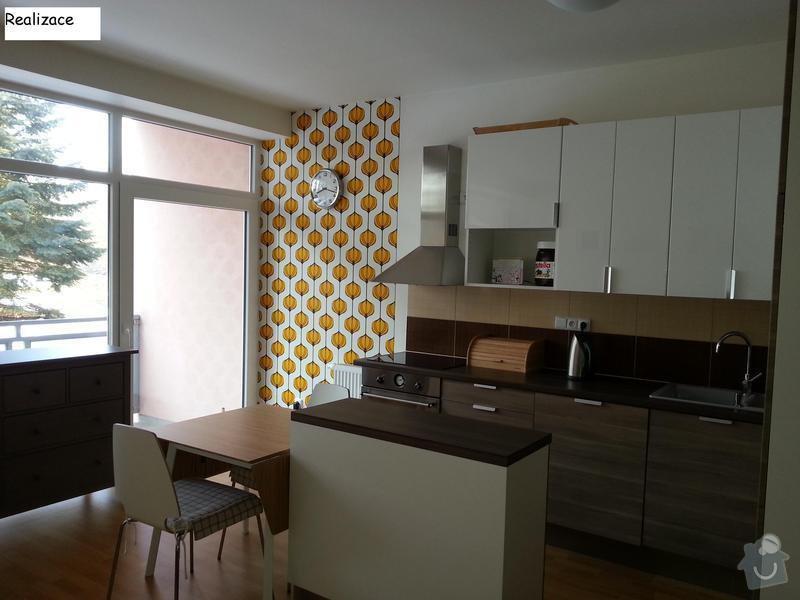 Návrh interiéru bytu 2+kk: Realizace2