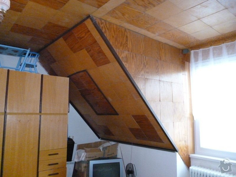 Nalepení stropních kazet (2 pokoje), 53 m²: P1000701