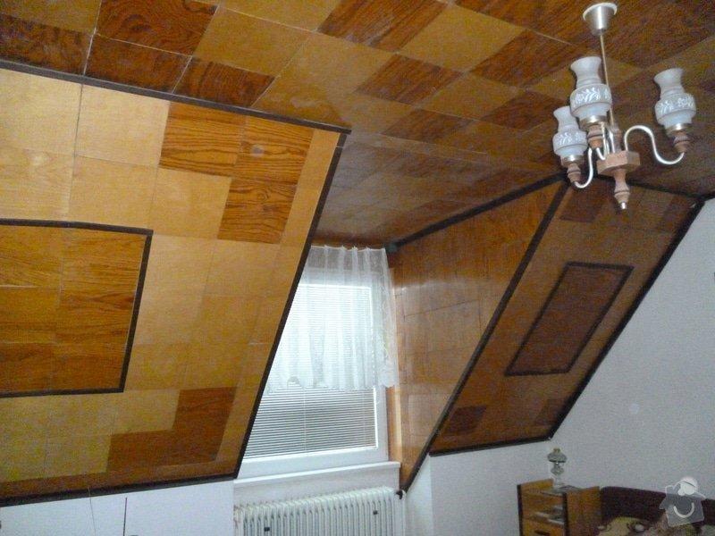 Nalepení stropních kazet (2 pokoje), 53 m²: P1000704