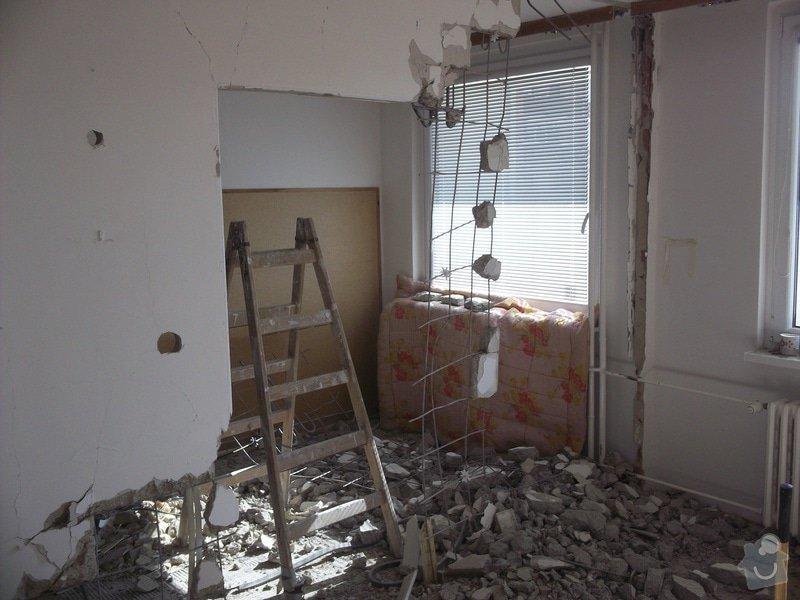 Bourací + stavební práce v panelovem bytě : 100_1044