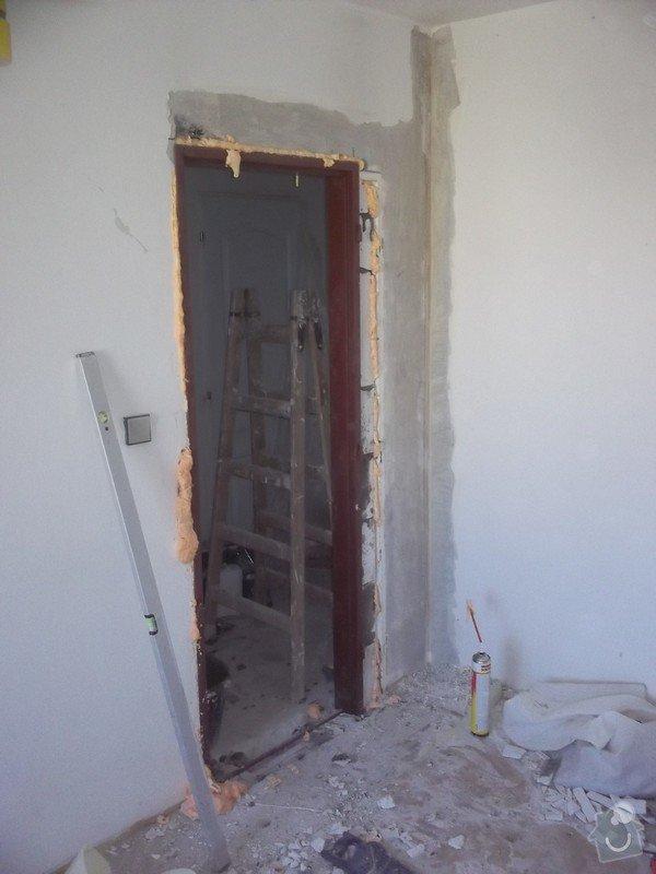Bourací + stavební práce v panelovem bytě : 100_1054