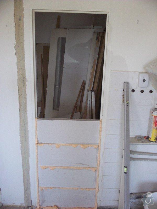 Bourací + stavební práce v panelovem bytě : 100_1058