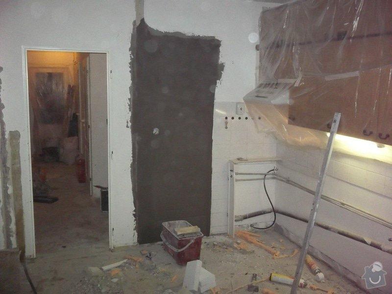 Bourací + stavební práce v panelovem bytě : 100_1060