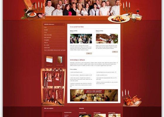 Tvorba webových stránek U Jeňoura