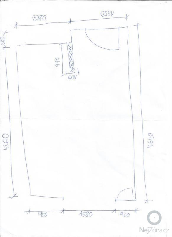 Návrh interiérů 2 pokoje: Kuchyne
