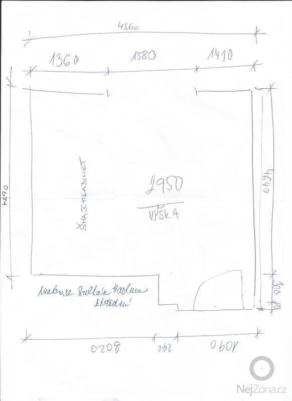 Návrh interiérů 2 pokoje: Loznice