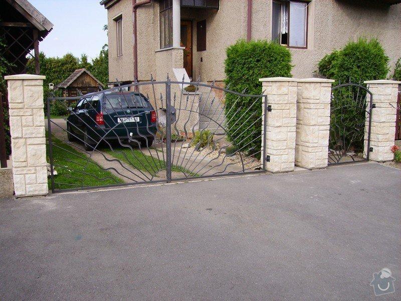 Kovaná vrata: IMGP0001