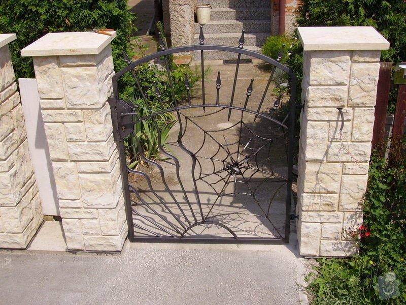 Kovaná vrata: IMGP1667