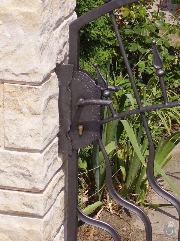 Kovaná vrata: IMGP1670