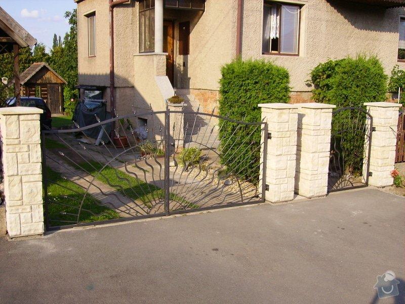 Kovaná vrata: IMGP1708