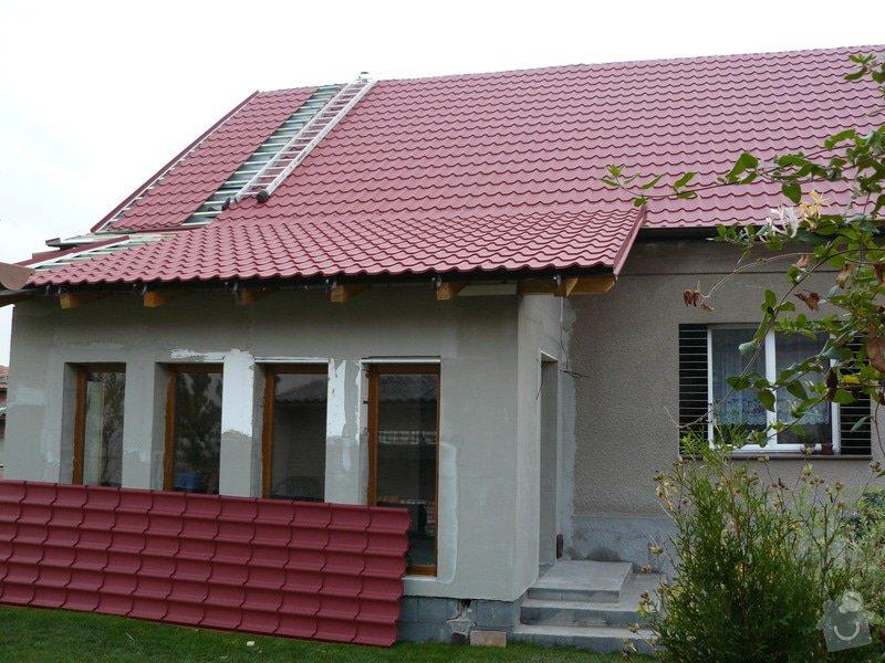 Rekonstrukce fasády RD: P1000293
