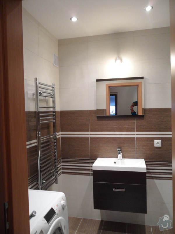 Rekonstrukce koupelny : 1