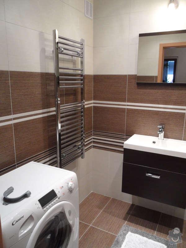 Rekonstrukce koupelny : 3