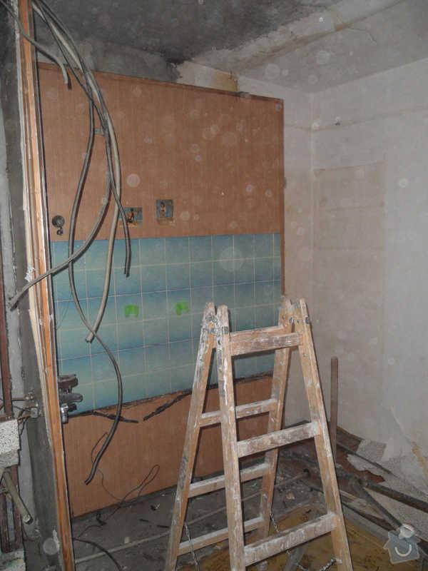 Rekonstrukce koupelny : 13