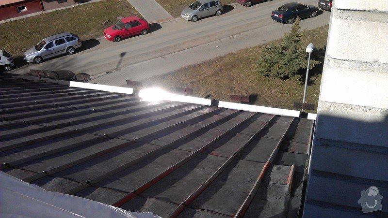 Nátěr a oprava plechové střechy: IMAG0056