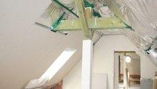 Rekonstrukce koupelny, malířské práce, sádrokartonové podkroví
