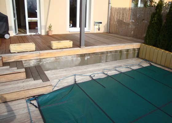 Obložení terasy dřevem