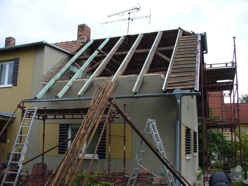 Oprava střechy,půdní vestavba ve Spjile u Pardubic: Spojil_3
