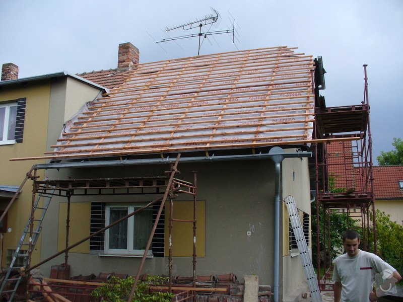 Oprava střechy,půdní vestavba ve Spjile u Pardubic: Spojil_4