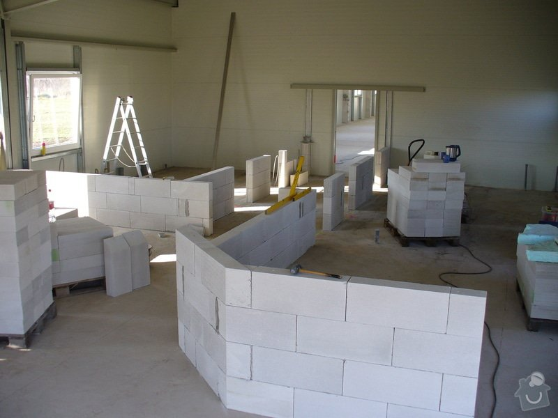 Výstavba příček,kazetové podhledy v Novém Bydžově: Distar_Novy_Bydzov_2