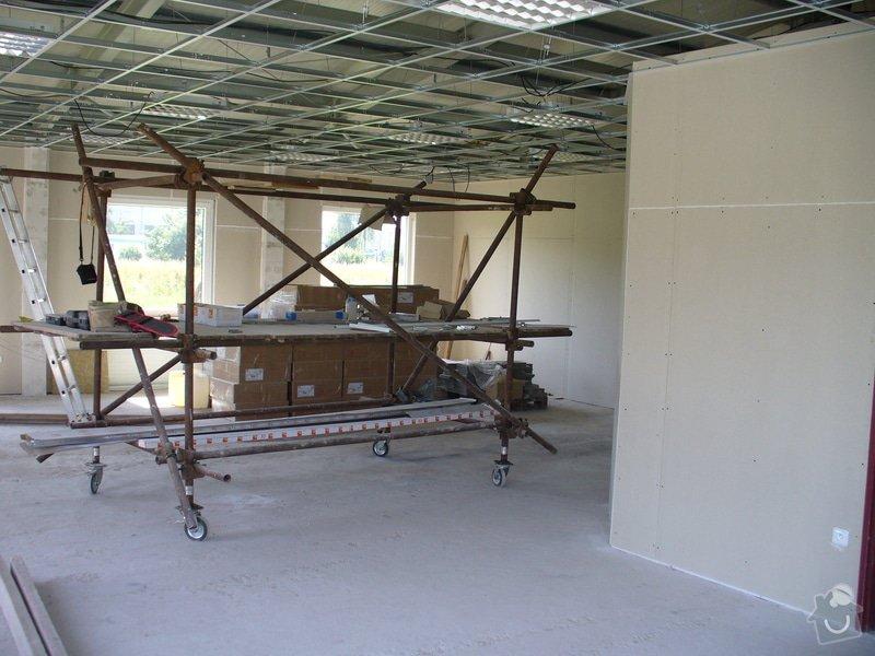 Výstavba příček,kazetové podhledy v Novém Bydžově: Distar_Novy_Bydzov_4