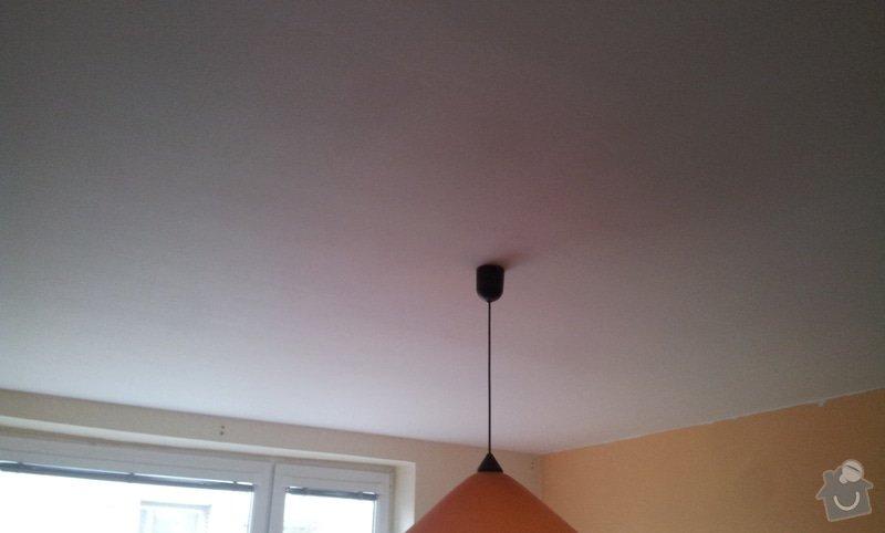 Odhlučnenie stropov v tehlovom byte Čelákovice: 20130307_145440