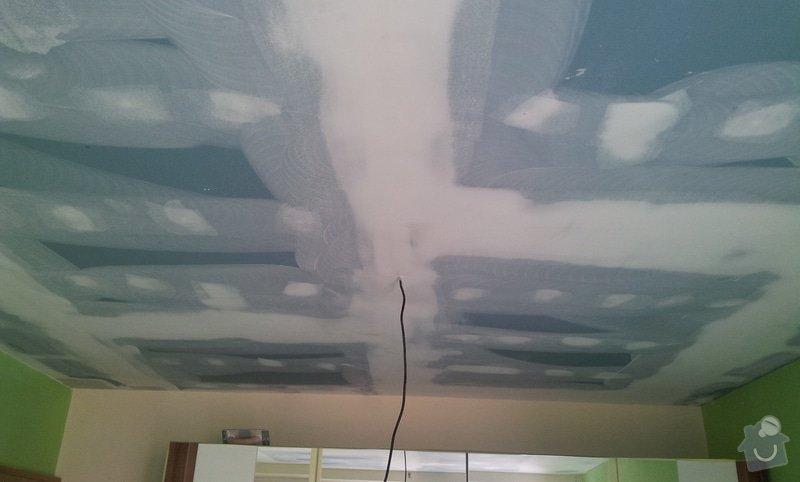 Odhlučnenie stropov v tehlovom byte Čelákovice: 20130305_104533