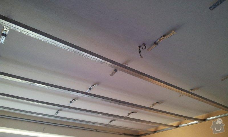 Odhlučnenie stropov v tehlovom byte Čelákovice: 20130305_104602
