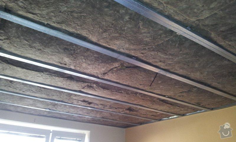 Odhlučnenie stropov v tehlovom byte Čelákovice: 20130305_133815