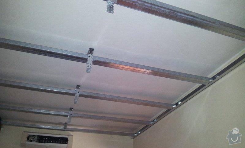Odhlučnenie stropov v tehlovom byte Čelákovice: 20130305_133828