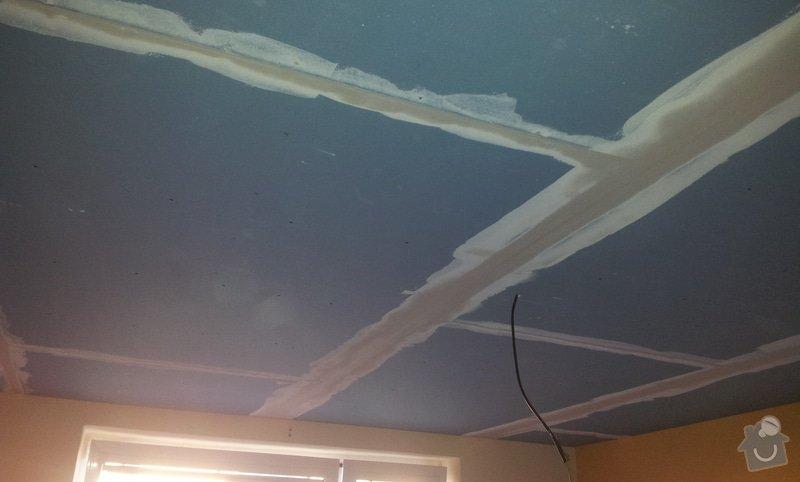 Odhlučnenie stropov v tehlovom byte Čelákovice: 20130305_161600