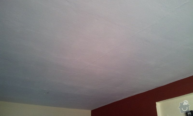 Odhlučnenie stropov v tehlovom byte Čelákovice: 20130306_104325