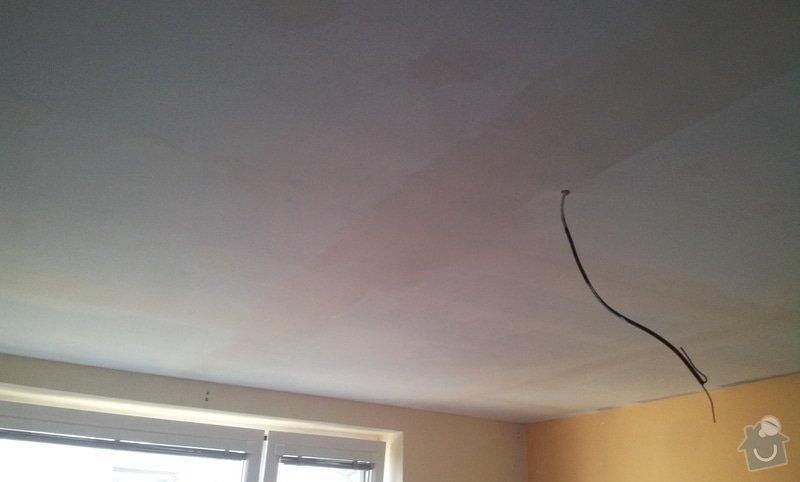 Odhlučnenie stropov v tehlovom byte Čelákovice: 20130306_120311