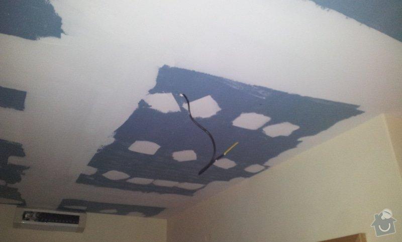 Odhlučnenie stropov v tehlovom byte Čelákovice: 20130306_120335