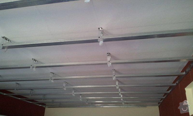 Odhlučnenie stropov v tehlovom byte Čelákovice: 20130306_120350
