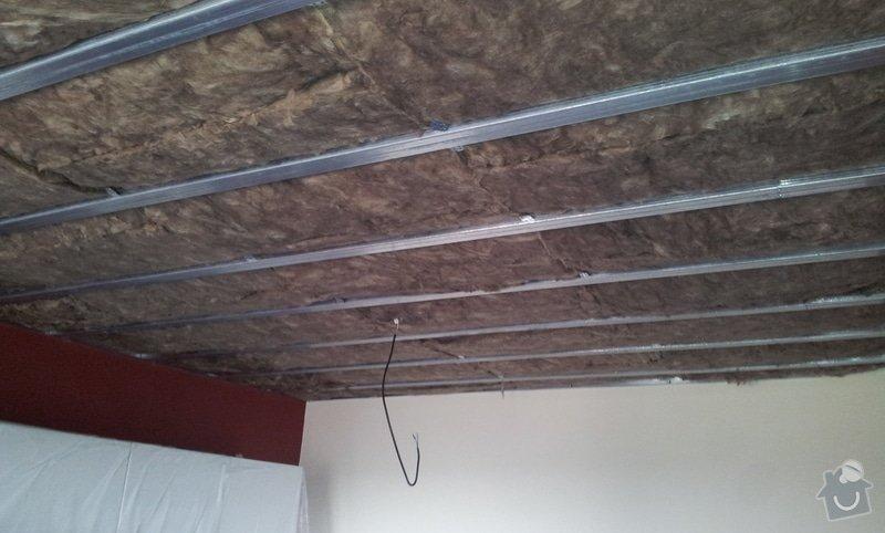 Odhlučnenie stropov v tehlovom byte Čelákovice: 20130306_140348