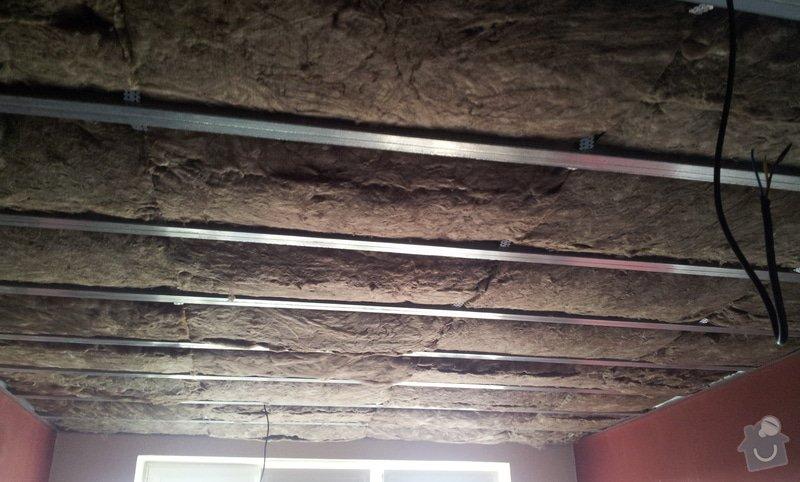 Odhlučnenie stropov v tehlovom byte Čelákovice: 20130306_140359