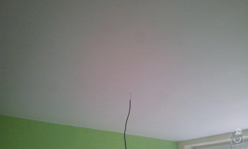 Odhlučnenie stropov v tehlovom byte Čelákovice: 20130307_143257
