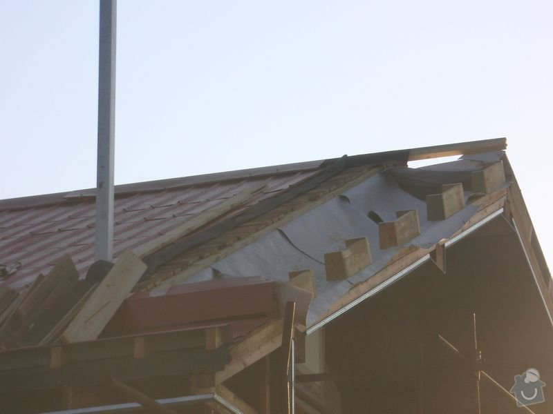 Střecha Alukryt 100 m2 !! SPĚCHÁ !!: Napnuta_kontaktni_folie_2